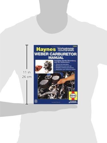 Weber Carburettor Manual (Haynes Techbooks)