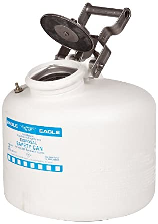 Eagle Polyethylene Disposal Safety Can