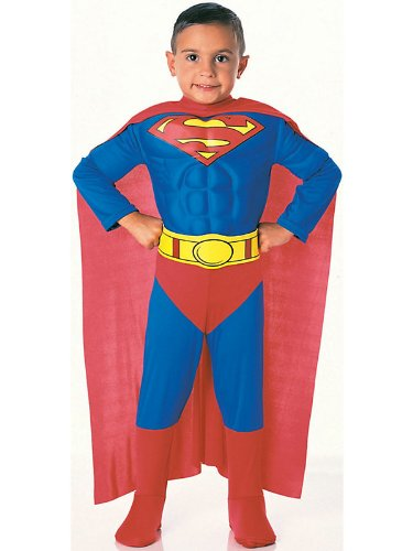 Super DC Heroes Deluxe Muscle Chest Superman Costume