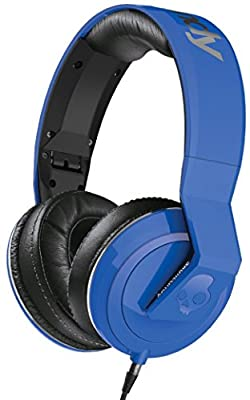 Skullcandy - Method Over Ear Headphones In Royal Blue/ Black