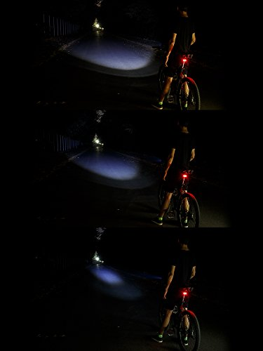 Best Bike Light LED Set (front and back) + Bonus Tail ...