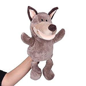 V-SOL Hand Puppet Marioneta De Mano De Guante De Felpa Con Diseño Animal Para Kids Niños (Animal 8) de V-SOL - BebeHogar.com
