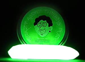 Crazy Aaron's Thinking Putty - Krypton Green Glow in the Dark Thinking Putty