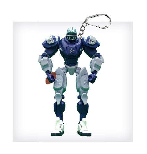 "Dallas Cowboys 3"" Team Cleatus FOX Robot NFL Football Key Chain Version 2.0"