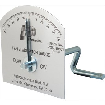 Fan Pitch & Rotation Gauge (Fan Blade Pitch Gauge compare prices)