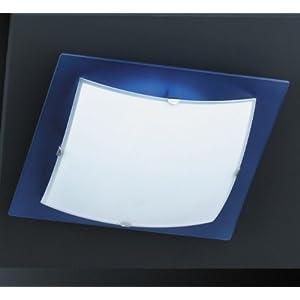 deckenlampe deckenleuchte bad wei blau k che k chenlampe badezimmerlampe 1a ebay. Black Bedroom Furniture Sets. Home Design Ideas