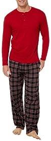 IZOD Mens 2-Piece Sleepwear Set