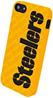 Forever Collectibles Pittsburgh Steelers Team Logo Silicone Apple iPhone 5 & 5S... by Forever Collectibles