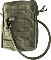 Tactical Assault Gear MOLLE Hydration 50oz Bladder Carrier, Small, Ranger M50H2O-RG