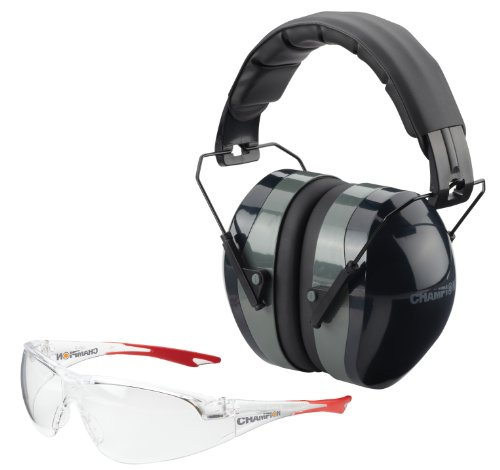 Champion Ballistic Passive Ears and Eyes Combo (Black) (Eye Ear Protection compare prices)