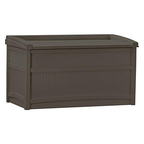 Suncast DB5500J 50-Gallon Deck Box with Seat (Deck Storage Bench compare prices)