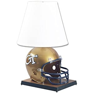 NCAA Georgia Tech Yellowjackets Helmet Lamp by WinCraft