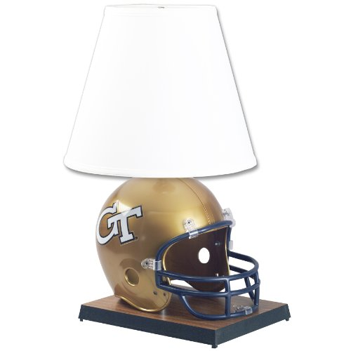 NCAA Georgia Tech Yellowjackets Helmet Lamp WinCraft Desk Lamps autotags B0033JV8WY