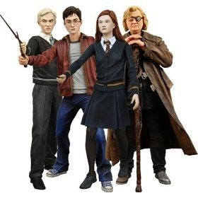 Harry Potter 'Half Blood Prince' Series 1Set of 4 7' Action Figures