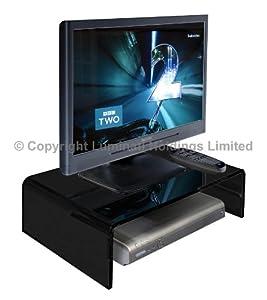 Cheap  Stunning  Acrylic TV/Monitor Stand