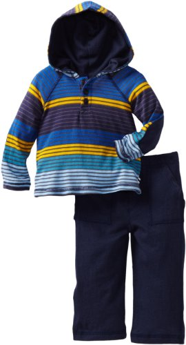 Today Sale Splendid Littles Baby-Boys Newborn Camden Stripe Henley Set, Drummer Boy, 6-12 Months  Best Offer