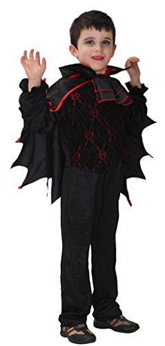 Ace Halloween Children's Kids Boys Scary Bat Vampire Costume