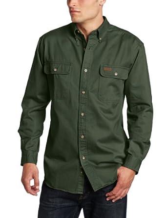 Carhartt Mens Sandstone Twill Shirt by Carhartt