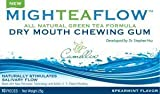 MighTeaFlow Spearmint Dry Mouth Chewing Gum (Case of 8 Packs)