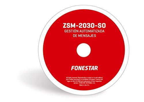 photo Logiciels pour automatiser LA DÃo/ooLIVRANCE DE MESSAGES FONESTAR ZSM-2030-SO