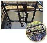 Miller UTV Roof Mount Gun Rack 2-Gun For Mules/Ranger/Kubota