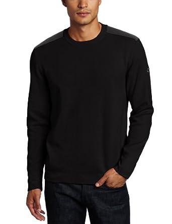 Victorinox Men's Sleaford Crew Neck Sweater, Black, X-Large