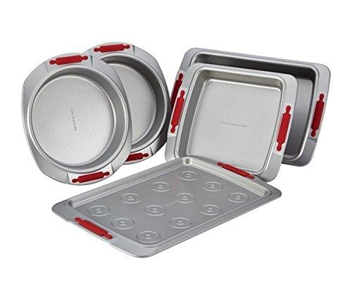 Cake Boss Deluxe Nonstick Bakeware 5-Piece Bakeware Set