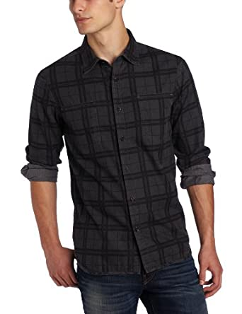 Howe Men's Good General Shirt, Paint It Black, X-Large