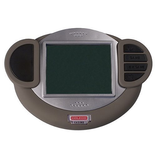 Coleco 3 in 1 Handheld Electronic Casino Games