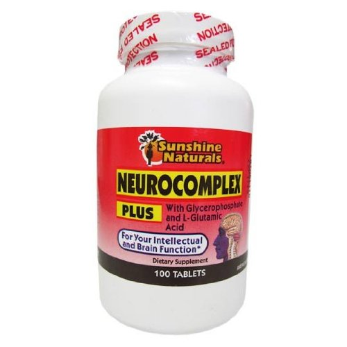 Sunshine Naturals Neurocomplex Plus Brain Booster Vitamin B