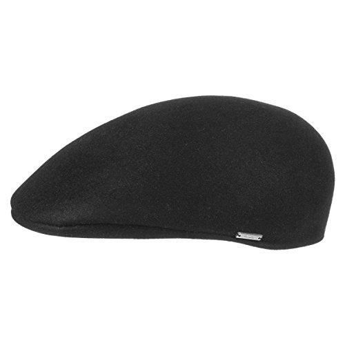 borsalino-schirmkappe-flatcap-filzcap-58-cm-schwarz