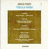 Part: Fratres/Cantus in Memory of Benjamin Britten/Tabula Rasa