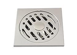 Klaxon Steel Anti-Cockroach Floor Drain (Jali Grating)