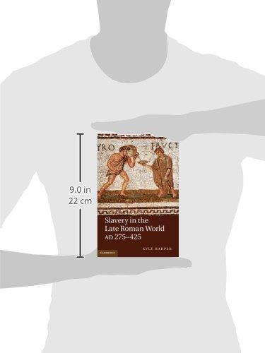 Slavery in the Late Roman World, AD 275-425 Hardback