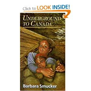 an analysis of the mammy sallys version of underground to canada a novel by barbara smucker Underground to canada has it is a fictional novel it is based on an actual underground railroad to canada' written by barbara smucker.
