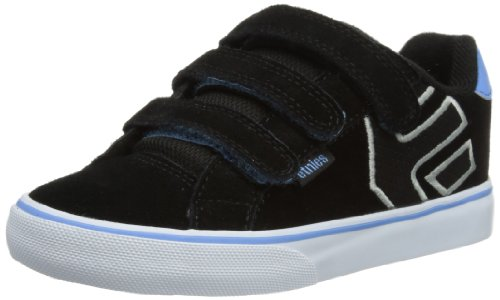 Etnies Unisex-Child Kids Autism Fader Vulc Strap Trainers 4307000093 Black/Blue/White 9 UK Child, 27.5 EU, 10 US Child