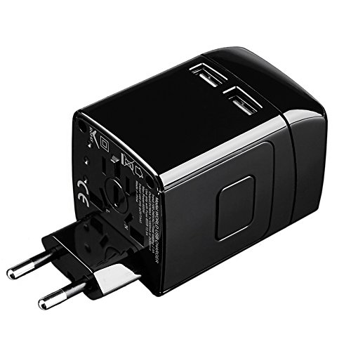 Fiil Travel Adapter International Plug Us Uk Eu Au With