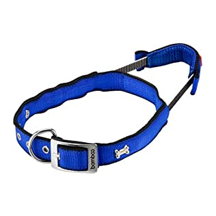 Bamboo Quick Control Large Collar, Blue