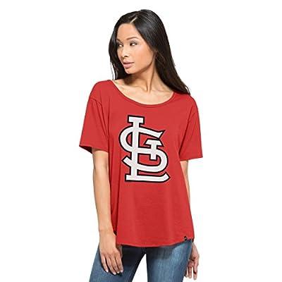 MLB Women's Boyfriend Scoop Neck Tee