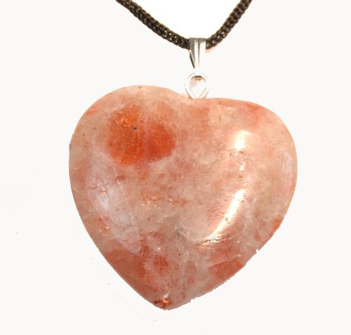 Sunstone Heart Pendant - Buy Sunstone Heart Pendant - Purchase Sunstone Heart Pendant (Toltec, Apparel, Departments, Accessories, Women's Accessories)