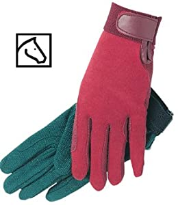 SSG Gripper Riding Gloves Navy 7/M