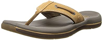 Sperry Top-Sider Men's Sport Santa Cruz Thong Sandal Sandal,Tan,7 M