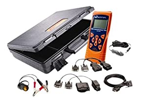 Actron CP9190 Elite AutoScanner Pro Diagnostic Code Scanner Kit (Includes CP9185 Base Scanner, OBDI & OBDII Cables with Hard Case) by Actron
