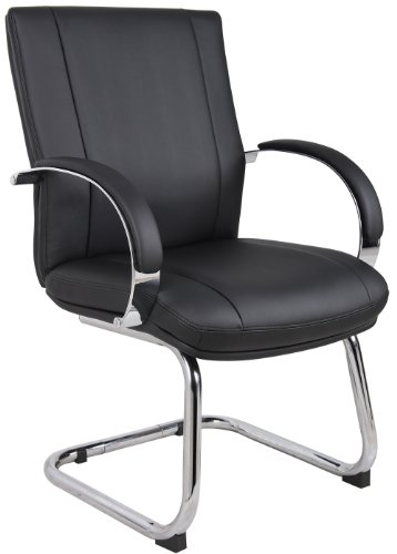 Boss Office Products Aele40c Bk Aaria Collection Black