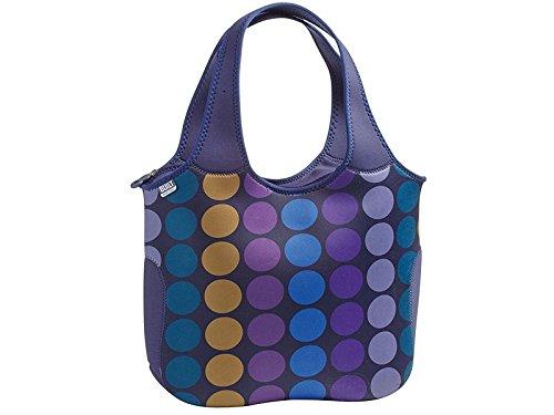built-ny-essential-plum-dot-tote-neoprene-multi-colour