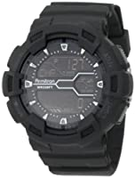 Armitron Men's 40/8246MBLK Black Resin Digital World Time Sport Chronograph Watch from Armitron