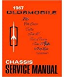 1967 Oldsmobile 98 88 442 Cutlass F85 Shop Service Repair Manual Book Engine