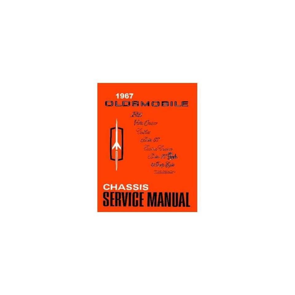 1967 Oldsmobile 98 88 442 Cutlass F85 Shop Service Repair Manual Book Engine