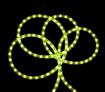 Amazon.com: 18 Neon Green Indoor/Outdoor Christmas Rope Lights: Home Improvement