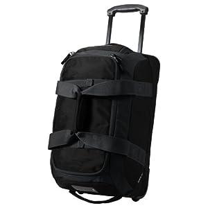 Eddie Bauer Unisex-Adult Gate 21 Rolling Duffel Bag, Black ONESZE